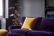 Фото 37 С какими цветами сочетается фиолетовый, лучшее его применение в интерьере