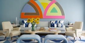 С какими цветами сочетается голубой (79 фото): легкость и воздушность в вашем доме фото