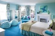 Фото 37 С какими цветами сочетается голубой (79 фото): легкость и воздушность в вашем доме