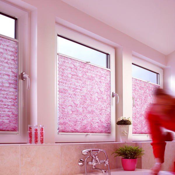 Шторы-плиссе на маленьких окнах