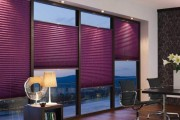 Фото 5 Шторы-плиссе на окна: 60+ идей для светлого интерьера, правила установки и ухода
