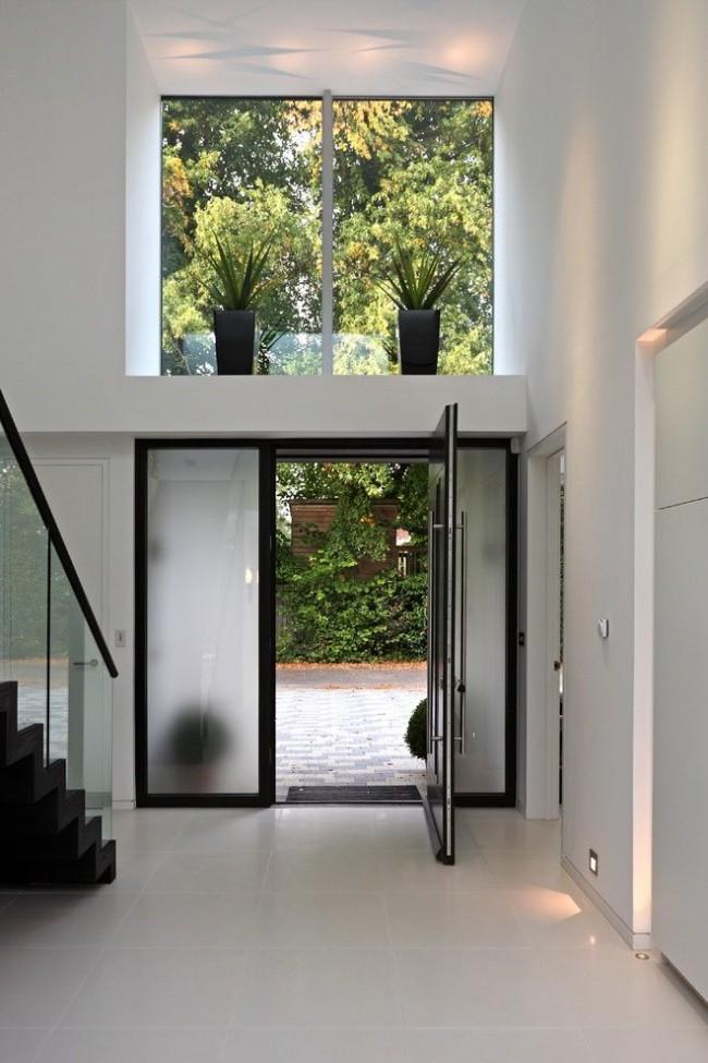 Одностворчатая стальная дверь