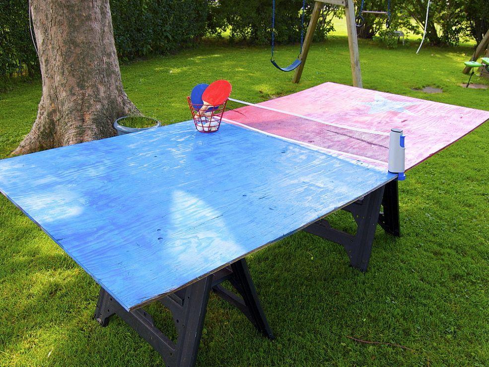 Сделать стол для тенниса своими руками 160