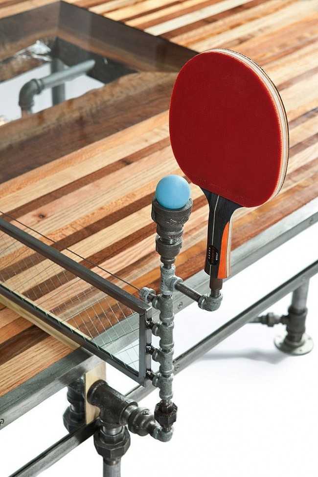 Система держателей для ракетки и мячика