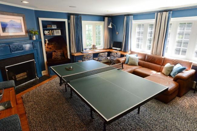 Стандартный теннисный стол для любителей