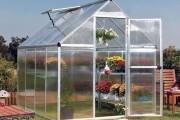 Фото 3 Теплицы из поликарбоната (47 фото): рациональное садово-дачное решение