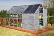 Фото 5 Теплицы из поликарбоната (47 фото): рациональное садово-дачное решение