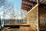 Фото 8 Терраса из поликарбоната, пристроенная к дому (53 фото): варианты размещения и основные этапы строительства