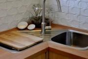 Фото 6 Угловая мойка для кухни (45 фото): интересное решение при нехватке пространства