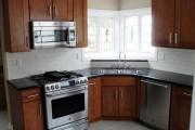 Фото 20 Угловая мойка для кухни (45 фото): интересное решение при нехватке пространства