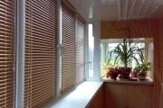 Фото 12 Какие жалюзи лучше на балкон? Обзор вариантов, плюсы и минусы (35 фото)