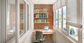 Какие жалюзи лучше на балкон? Обзор вариантов, плюсы и минусы (35 фото) фото