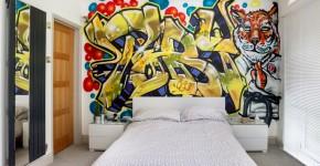 Роспись стен в интерьере (54 фото): оригинальный декор для квартиры фото