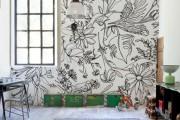 Фото 13 Роспись стен в интерьере (54 фото): оригинальный декор для квартиры