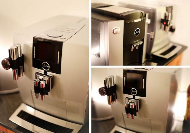 Кофемашина для дома. Дизайн корпусов кофемашин очень разнообразен, и позволяет выбирать их также и по внешнему виду, кроме непосредственного функционала
