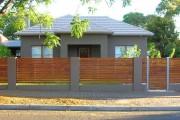 Фото 22 Деревянные заборы и ограждения для дома (50 фото): эффектная защита участка