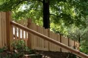 Фото 27 Деревянные заборы и ограждения для дома (50 фото): эффектная защита участка