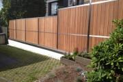Фото 14 Деревянные заборы и ограждения для дома (50 фото): эффектная защита участка