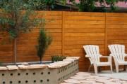 Фото 7 Деревянные заборы и ограждения для дома (50 фото): эффектная защита участка