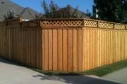 Фото 15 Деревянные заборы и ограждения для дома (50 фото): эффектная защита участка