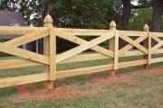 Фото 18 Деревянные заборы и ограждения для дома (50 фото): эффектная защита участка