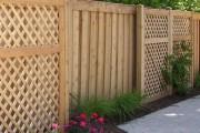 Фото 21 Деревянные заборы и ограждения для дома (50 фото): эффектная защита участка