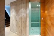 Фото 2 Душевые ограждения из стекла без поддона (55 фото): стиль и воздушность ванной комнаты