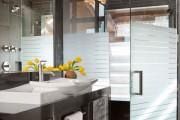 Фото 16 Душевые ограждения из стекла без поддона (55 фото): стиль и воздушность ванной комнаты
