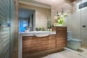 Фото 18 Душевые ограждения из стекла без поддона (55 фото): стиль и воздушность ванной комнаты