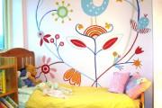 Фото 2 Роспись стен в интерьере (54 фото): оригинальный декор для квартиры