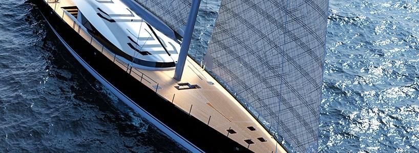 Новая стильная парусная яхта от Marco Ferrari и Alberto Franchi