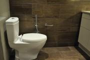 Фото 1 Гигиенический душ для унитаза со смесителем (38 фото): комфорт для всей семьи