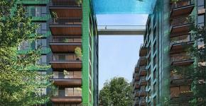 В Лондоне построят стеклянный мост-бассейн фото