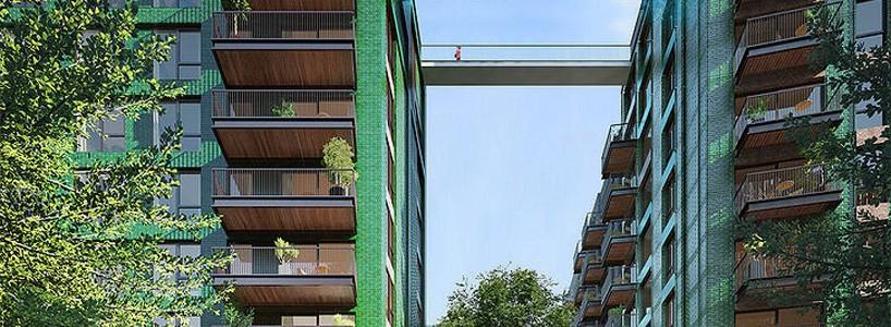 В Лондоне построят стеклянный мост-бассейн