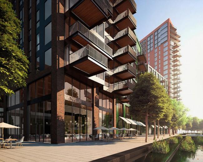В здании будут размещены 2, 000 объектов, среди которых, бизнес-центр, спортивный зал и бар на крыше.