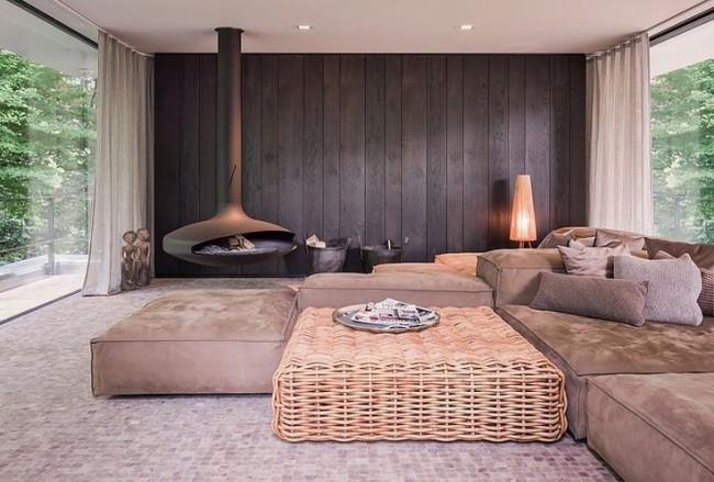 Мягкая мебель для зала. Модульные диваны - находка на те случаи, когда нужно расположить гостей на ночлег