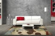 Фото 11 Ковры в интерьере гостиной (57 фото): современный подход к выбору ковровых изделий
