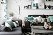 Фото 8 Ковры в интерьере гостиной (57 фото): современный подход к выбору ковровых изделий