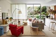 Фото 17 Ковры в интерьере гостиной (57 фото): современный подход к выбору ковровых изделий