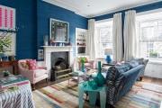 Фото 21 Ковры в интерьере гостиной (57 фото): современный подход к выбору ковровых изделий