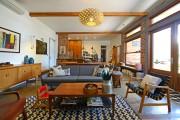Фото 24 Ковры в интерьере гостиной (57 фото): современный подход к выбору ковровых изделий