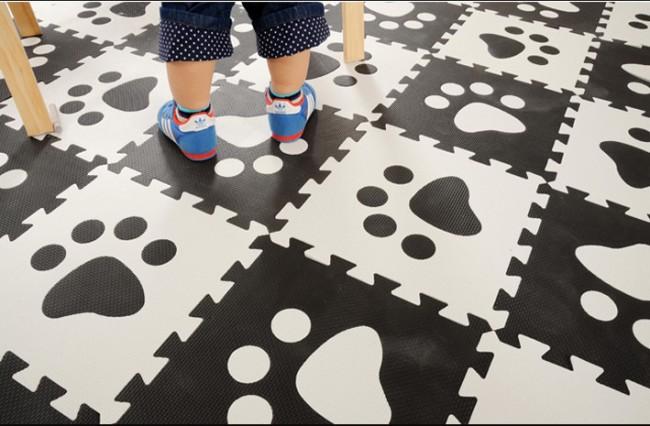 Мягкий пол для детских комнат. Модульный ЭВА-пол - отличное изобретение, с помощью которого можно не только обезопасить комнату ребенка, но и дополнить программу его развития