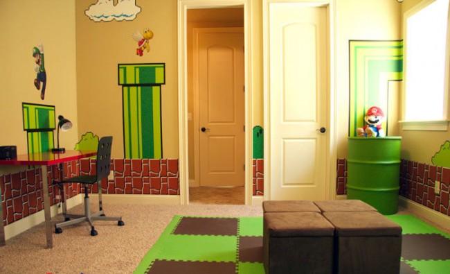 Мягкий пол для детских комнат. Цвета плиток пола из эвапласта можно подобрать таким образом, чтобы они вписались в конкретное тематическое оформление детской