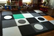 Фото 21 Мягкий пол для детских комнат (45 фото), его особенности и возможности