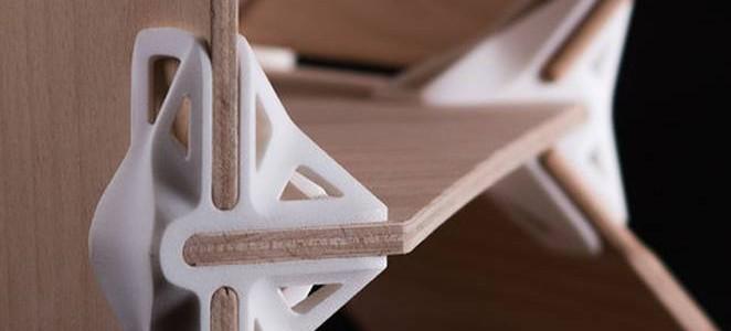 Универсальные съемные 3D крепления для мебели