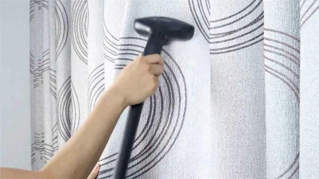 Отпариватель для одежды. Отпариватели дают возможность разгладить шторы, не снимая их