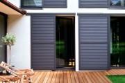 Фото 2 Ставни на окна (50 фото): элемент защиты и декоративного оформления загородных домов