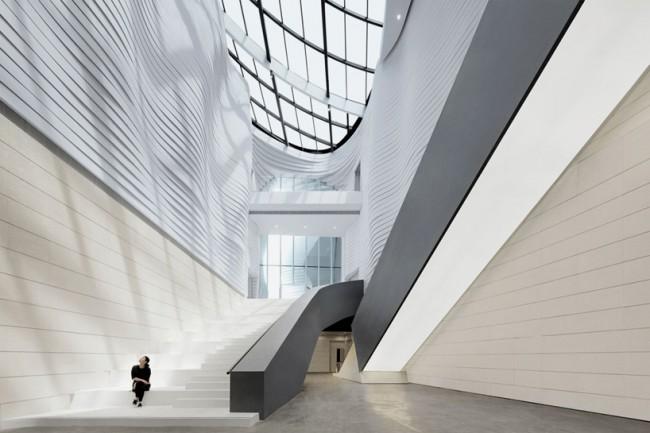 Внутренний дизайн музея. Изображение © WAA