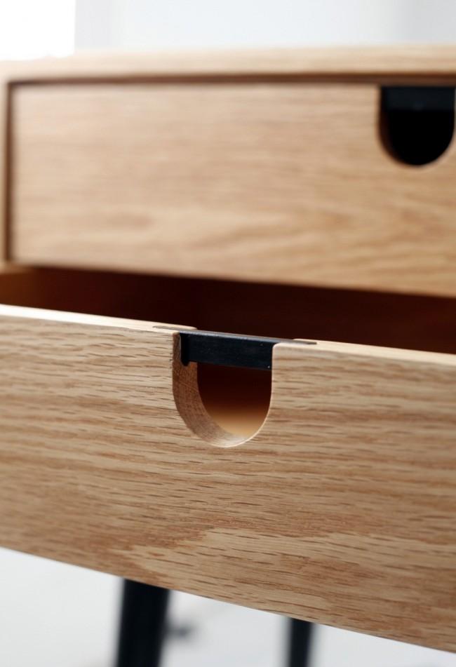 Мебельные ручки с деревянными элементами добавят в интерьер чувство тепла и уюта