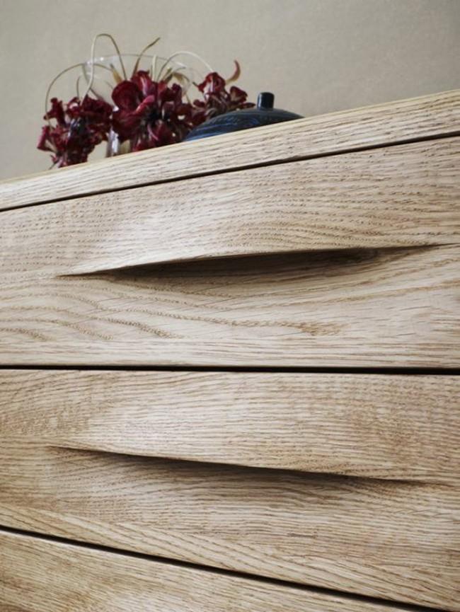 Мебельные ручки изготовленные из дерева поражают своей красотой и уникальностью